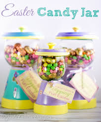 Easter Decorations With Candy by Best Easter Candy Jar Craft Nestle Filled Gumball Machine Candy