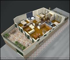 2 bedroom house floor plans 3d modern apartment with bedroomimsi