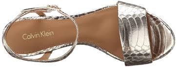 amazon com calvin klein women u0027s nadina dress sandal heeled sandals