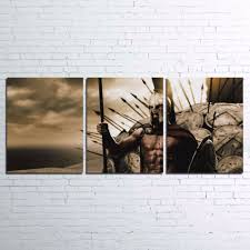 movie home decor 300 rise of an empire movie painting printed canvas wall art home