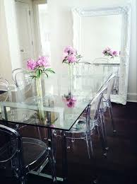 vintage glass top dining table glass top dining tables modern glass dining table with red chairs