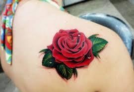 83 wonderful flowers shoulder tattoos