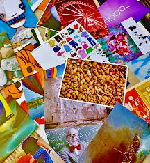 postcards selection assortment greeting cards images