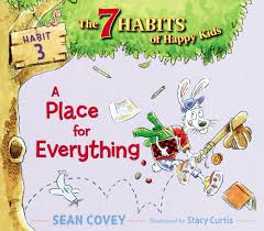 A Place Book A Place For Everything Book By Covey Curtis
