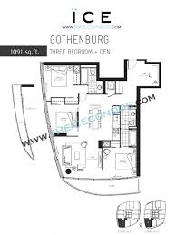 den floor plan ice condos for sale rent