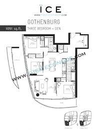 Den Floor Plan Ice Condos For Sale Rent