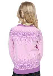 pink reindeer sweater for