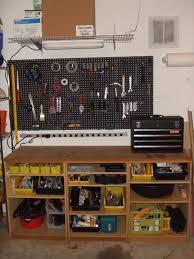 Diy Workbench Free Plans Diy Workbench Workbench Plans And Spaces by 18 Best Garage Ideas Images On Pinterest Garage Ideas Garage