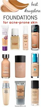 light coverage foundation for oily skin best drugstore foundations for acne prone skin mostly under 10