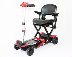 transformer automatic folding scooter access mobility equipment