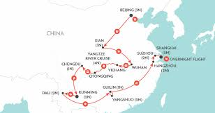 Shanghai China Map by China Tours Wendy Wu Tours