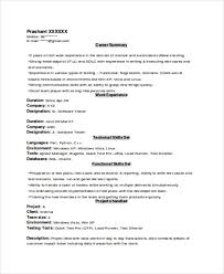 experience format resume experienced resume templates experience resume template