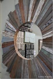 wood starburst mirror foter