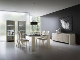 Gray Dining Room Ideas extraordinary 50 black dining room 2017 design ideas of large