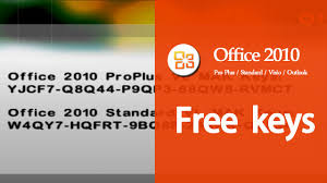 microsoft office 2010 working product key updated september 2016