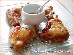 comment cuisiner des ailes de poulet ailes de poulet farcies chine le tablier de lolie