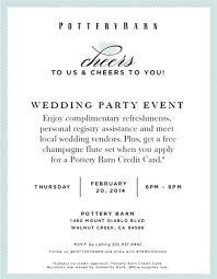 las vegas wedding registry pottery barn wedding registry event las vegas wedding with 28