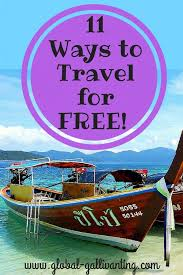 travel for free images 11 ways to travel for free global gallivanting travel blog jpg