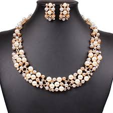 wedding jewellery sets gold bluelans women s party wedding jewellery sets