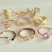 fashion golden rings images Do fashion rings have any meaning jpg