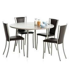 table ronde pour cuisine tables rondes de cuisine table ronde de cuisine en stratifiac bis