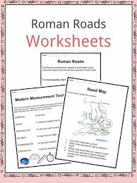 roman roads facts worksheets u0026 history for kids