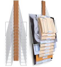 Wall Mounted Paper Organizer Wall Mounted File System The Up Filer Mini 5 Pockets Hangers