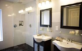 lighting bathroom led light fixtures over mirror thrilling light