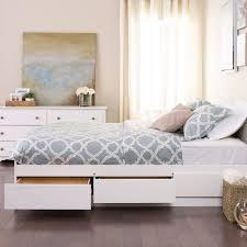 Jansey Upholstered Bedroom Set White Queen Platform Bed With Storage Also Millennium Jansey Metro
