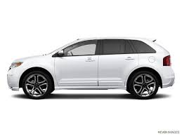 white ford edge used 2013 ford edge limited suv white platinum tri coat for sale