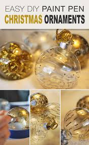 easy paint pen diy ornaments decorating your small space