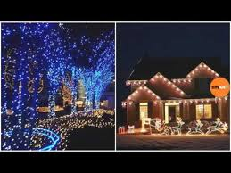 Blue Christmas Outdoor Decorations by Christmas Outdoor Decorations Christmas Outdoor Decor Youtube