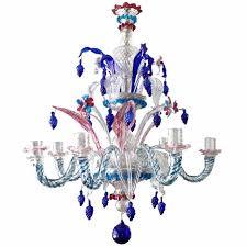Murano Glass Lighting Pendants by 19th Century Murano Glass U0027harlequin U0027 Chandelier Murano Glass