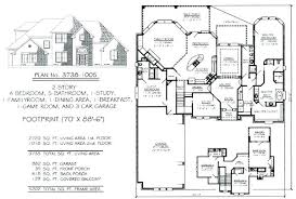 5 bedroom 4 bathroom house plans house plans with 5 car garage thecashdollars com