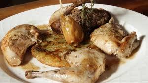 cuisiner des perdreaux perdreau rôti et terrine de gibiers à plumes au bistrot des clercs