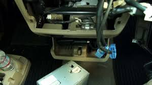 how to install cd player on toyota sienna youtube