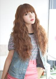 waivy korean hair style collections of korean wavy hairstyle cute hairstyles for girls