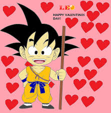 happy valentines day from me and kid goku by tytytec on deviantart