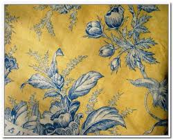 Yellow And Blue Curtains Blue And Yellow Toile Curtains Blue Pinterest Toile Curtains