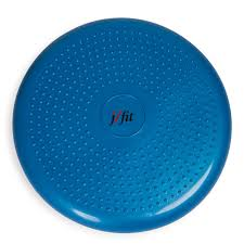 Seating Disc Balance Cushion Amazon Com J Fit Inflatable Balance U0026 Stability Disc Large Yoga