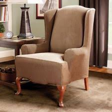 wing chair slipcover wing chair slipcover ebay