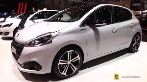 peugeot 208 2015 2016 peugeot 208 gt line pure tech 110hp s u0026s exterior interior