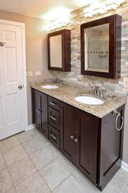 Countertop Cabinet Bathroom Bathroom Beige Countertop Design Pictures Remodel Decor And