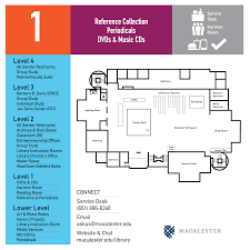 directions floor maps dewitt wallace library macalester college