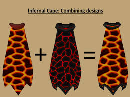 cape designs suggestion combining infernal cape designs 2007scape