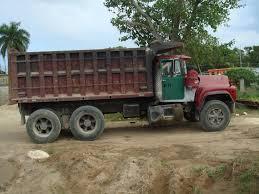 mack dump truck panoramio photo of mack r model dump truck
