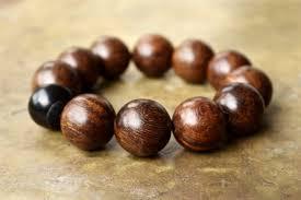 fashion beaded bracelet images Mens brown bracelet very large wooden bead bracelet minimal mens jpg