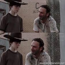 Rick And Carl Meme - carl rick meme generator
