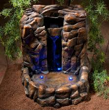 zoo med repti rapids large rock led waterfall for reptile terrariums