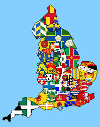 Cool Maps England County Flags Anglophile U0026 Celtomaniac Pinterest